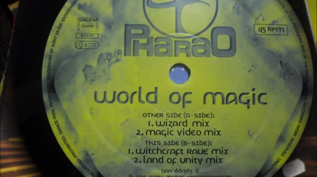 Pharao -  World of magic ( Wizard Mix )