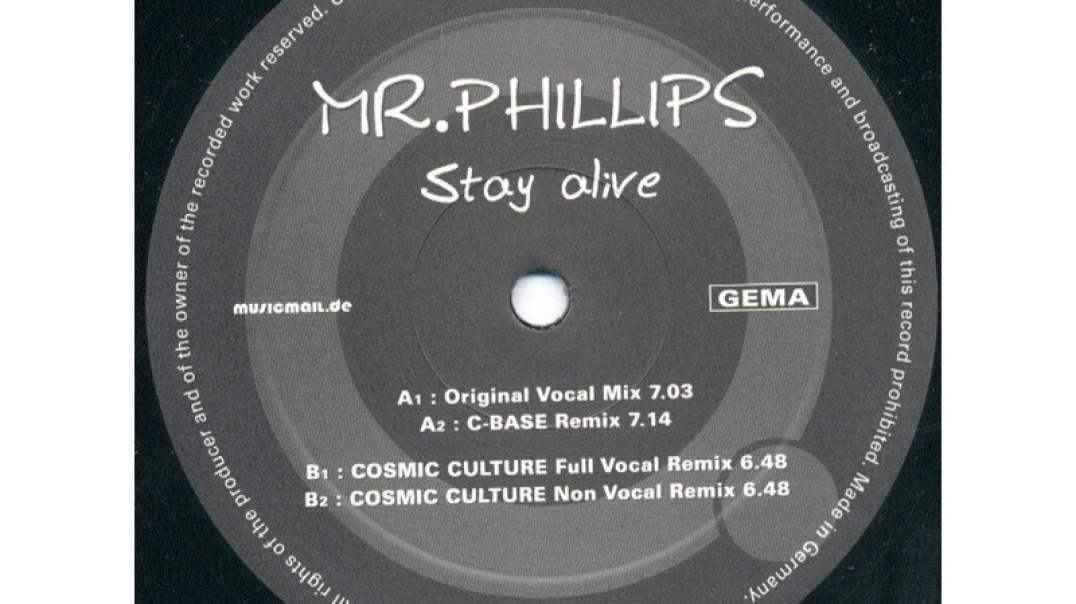 Mr. Phillips - Stay Alive (Original Vocal Mix)