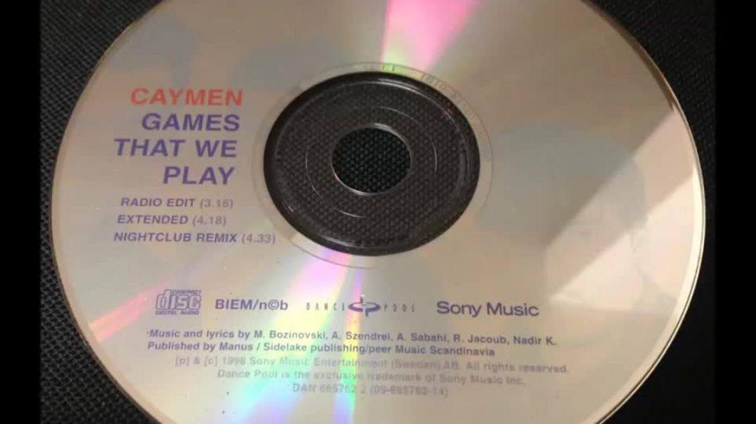 Caymen - Games That We Play