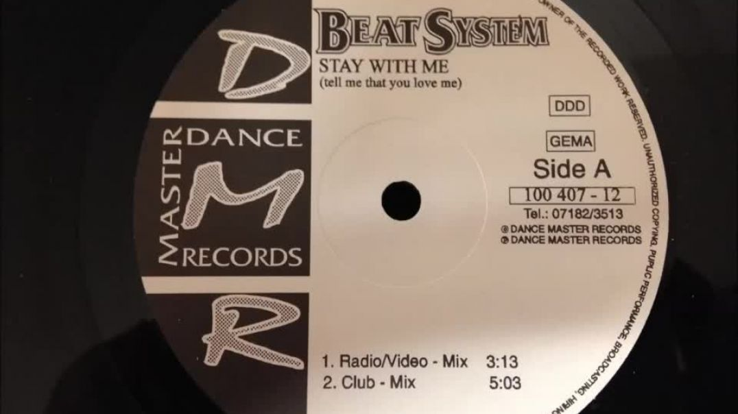 Beat System - Stay With Me