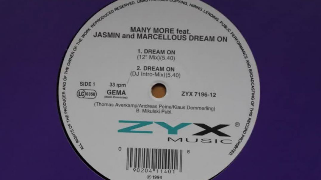 Many More ft Jasmin & Marcellous - Dream On