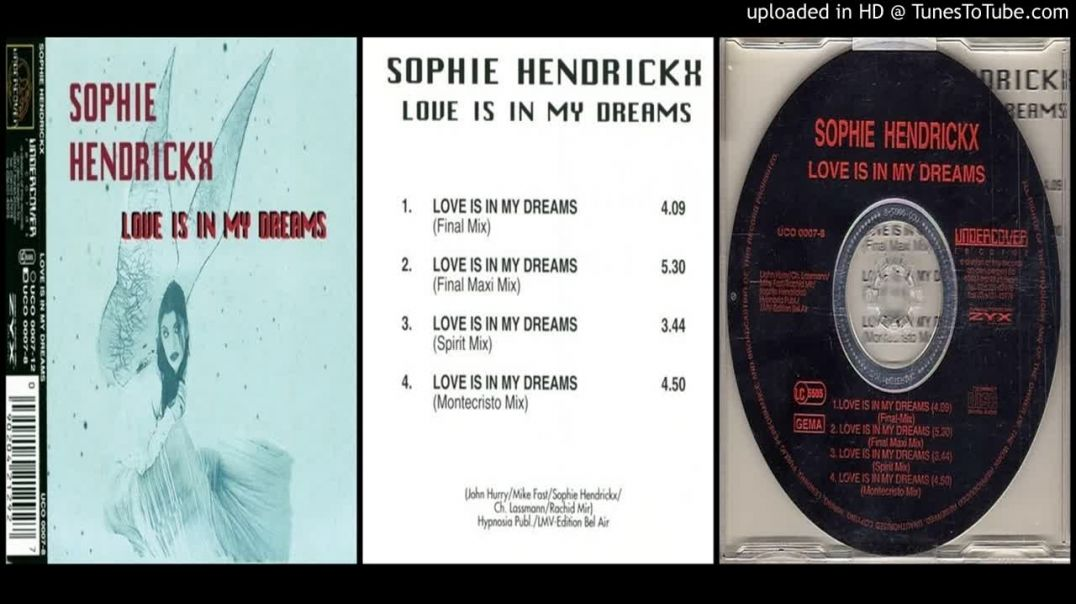 Sophie Hendrickx – Love Is In My Dreams (Final Maxi Mix)
