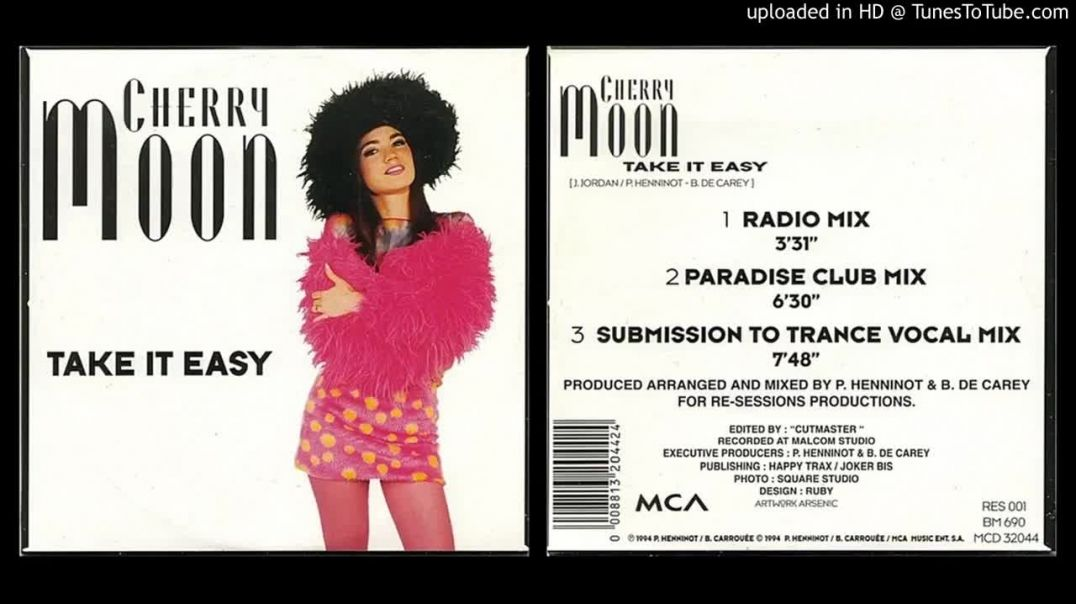 Cherry Moon – Take It Easy (Paradise Club Mix)