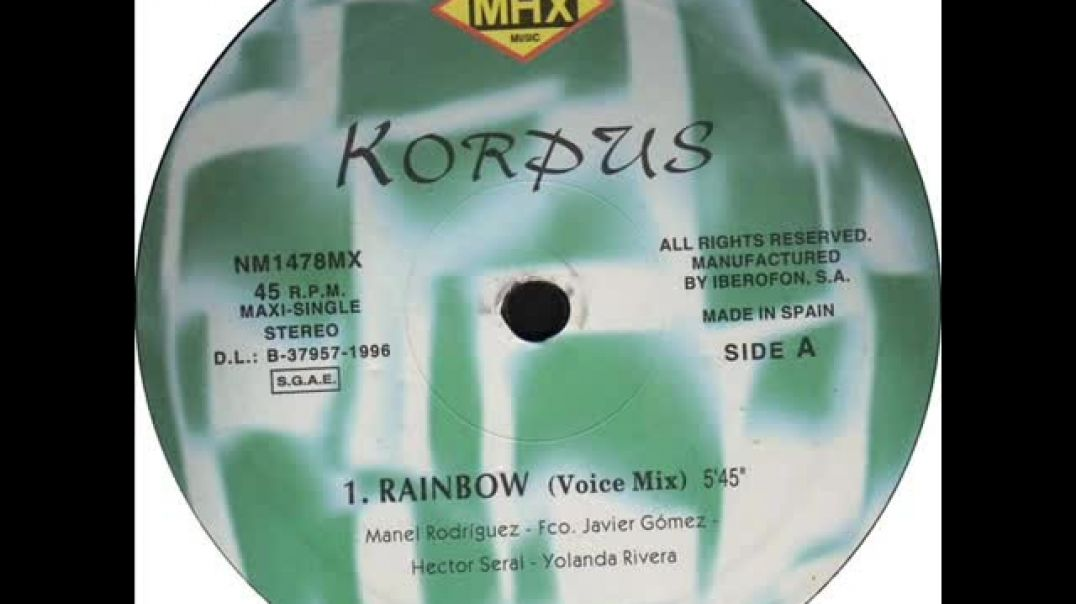 Korpus - Rainbow (Voice Mix)