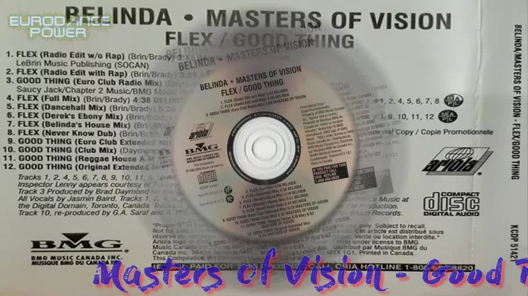 Masters Of Vision - Good Thing