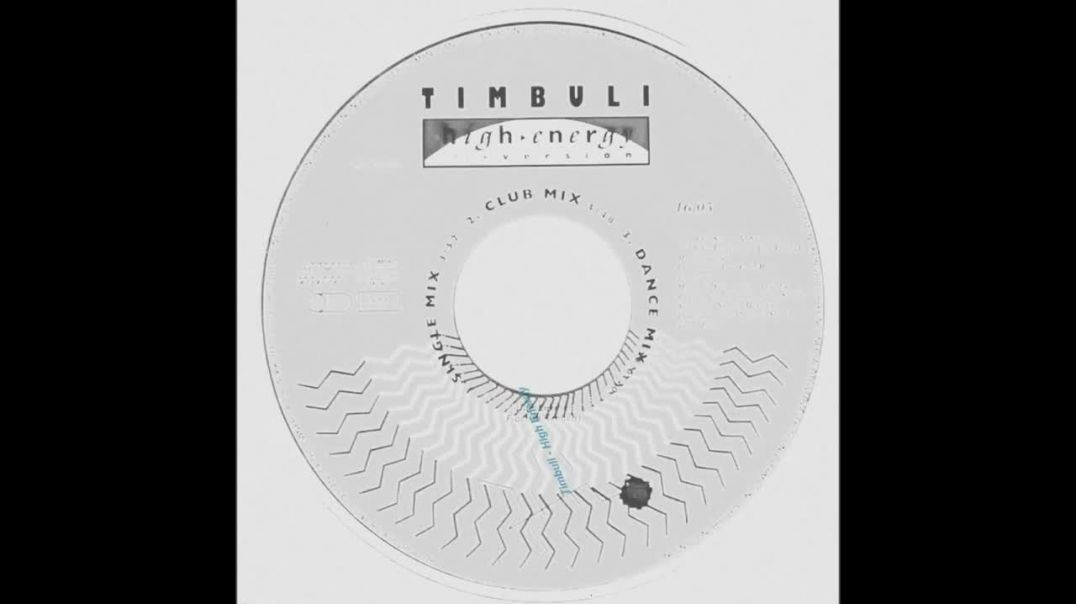Timbuli - High Energy (Dance Mix)