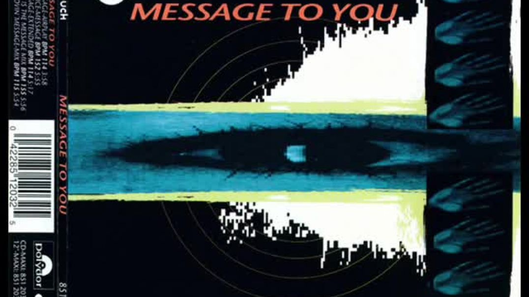 In Touch - Message To You (Groovin' Message Mix)