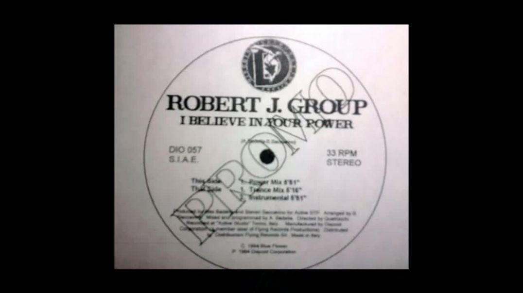 Robert J. Group - I Believe In Your Power (Power Mix)