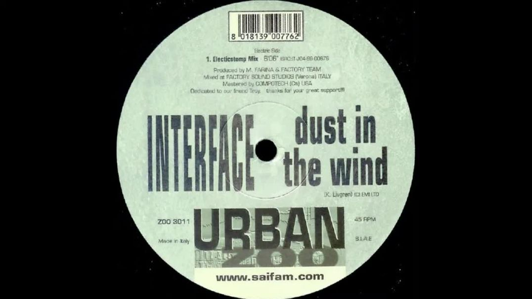 Interface - Dust In The Wind (Electricstomp Mix)