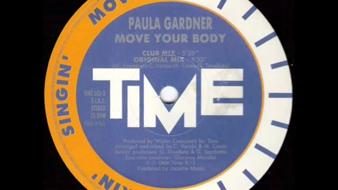 Paula Gardner - Move Your Body (Original Mix)