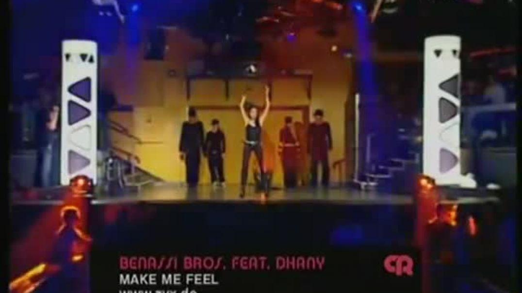Benassi Bros. ft Dhany - Make Me Feel ( viva tv )