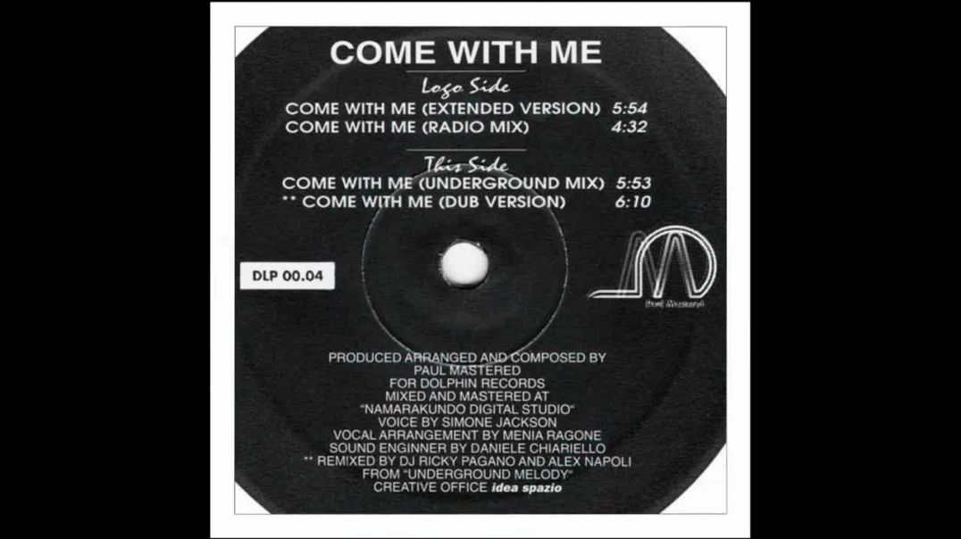 Paul Mastered - Come With Me (Radio Mix)