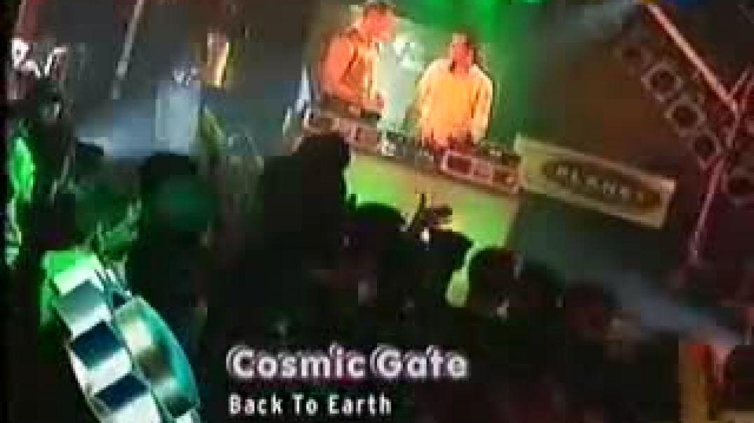 Cosmic Gate - Back To Earth ( viva tv )