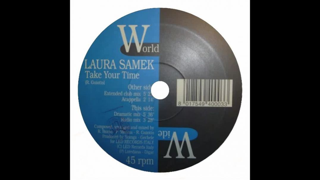 Laura Samek -Take Your Time (Dramatic Mix)