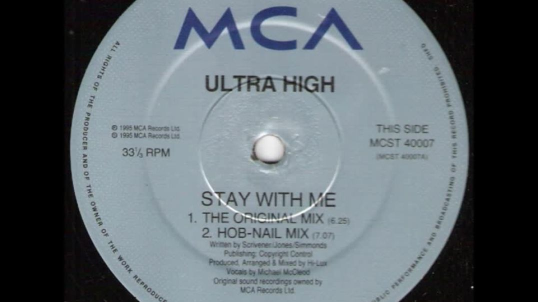 Ultra High - Stay With Me (The Original Mix)