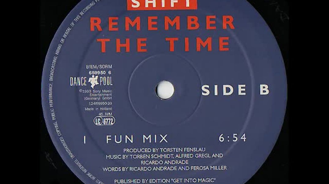 Shift - Remember The Time (Time Mix)