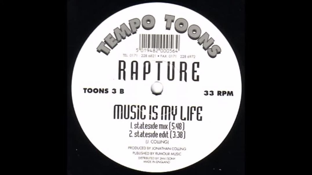 Rapture - Music Is My Life (Stateside Mix)