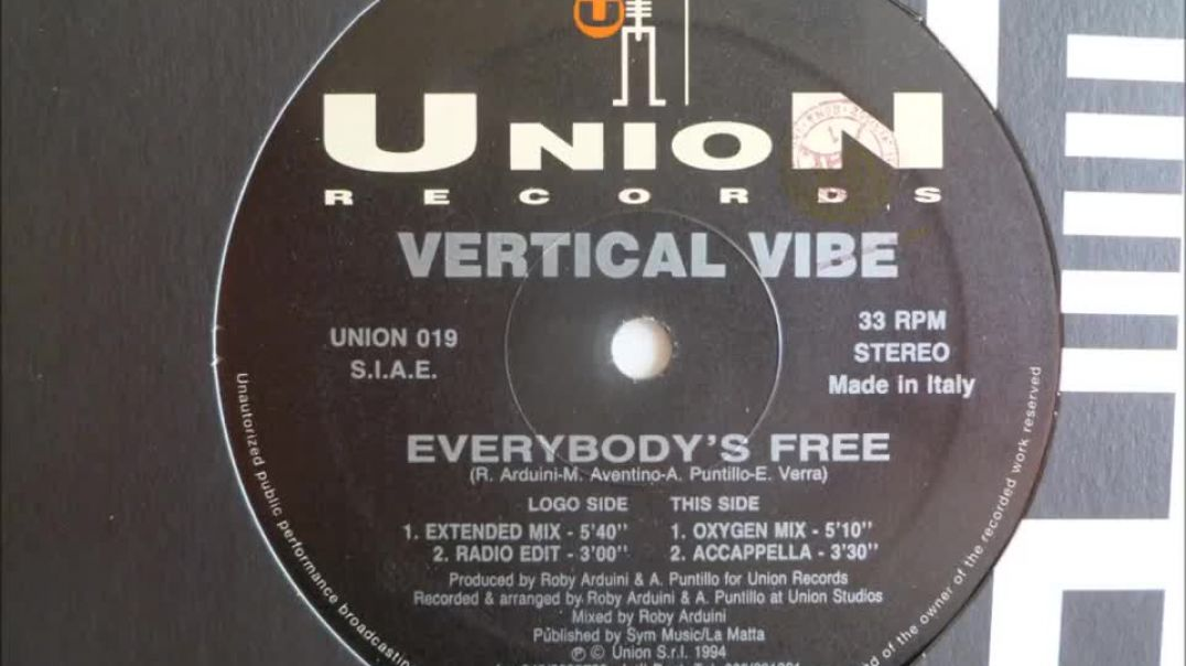 Vertical Vibe - Everybody's Free