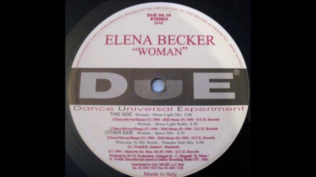 Elena Becker - Woman (Space Mix)