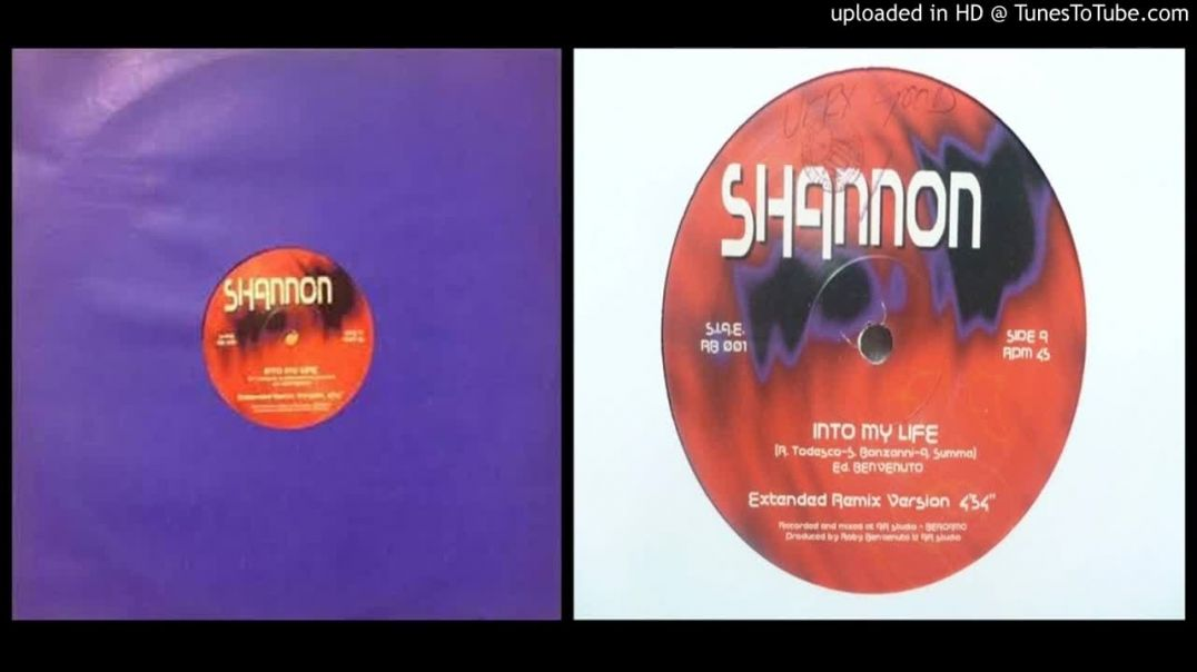 Shannon – Into My Life (Extended)