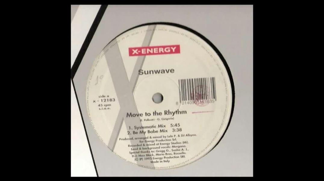 Sunwave - Move To The Rhythm (Systematic Mix)