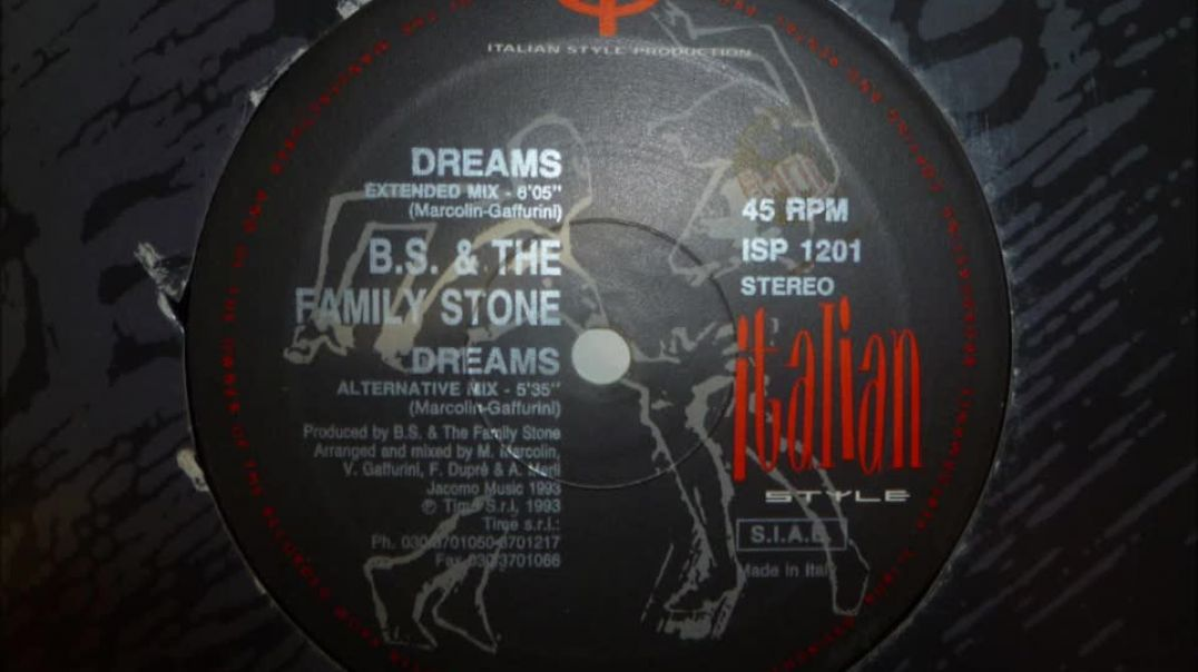 B.S. & The Family Stone - Dreams