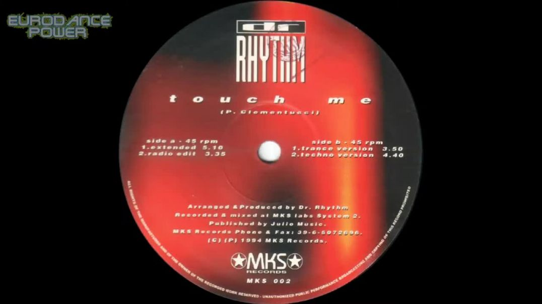 Dr. Rhythm - Touch Me (Extended)