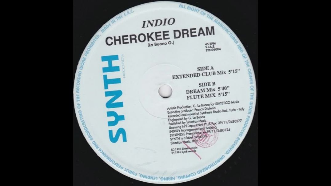 Indio - Cherokee Dream (Extended Club Mix)