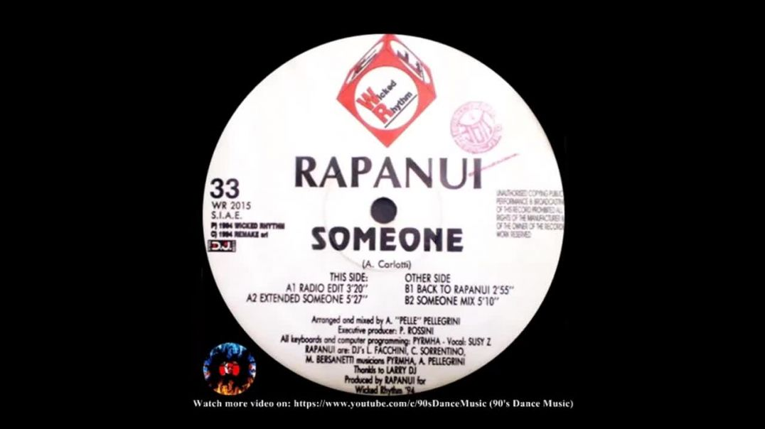 Rapanui - Someone (Extended Someone)