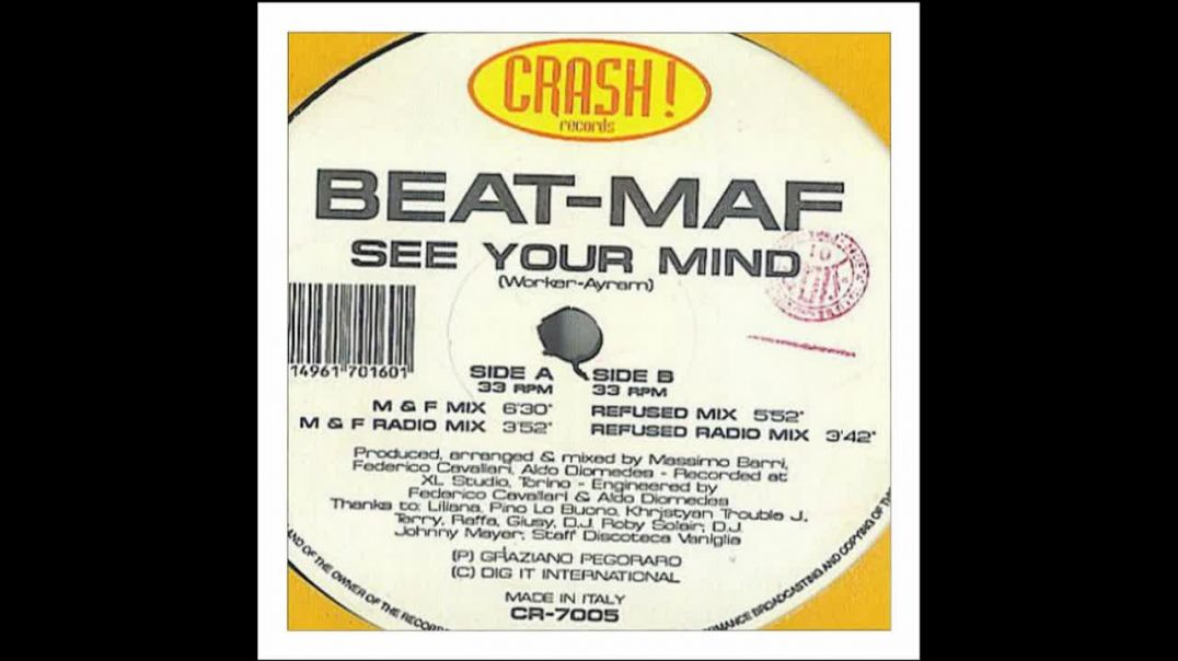Beat-Maf - See Your Mind (Refused Mix)