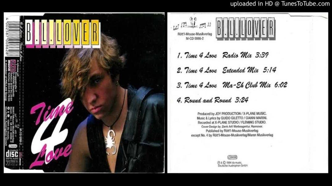 B.L. Lover - Time 4 Love (Extended)