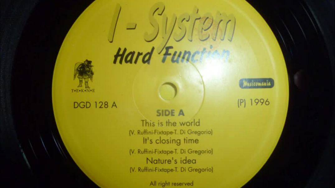 I-System - It's Closing Time