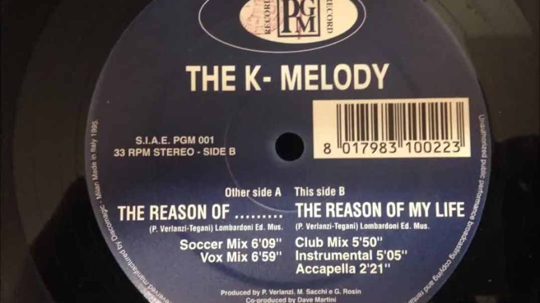 The K-Melody - The Reason Of My Life