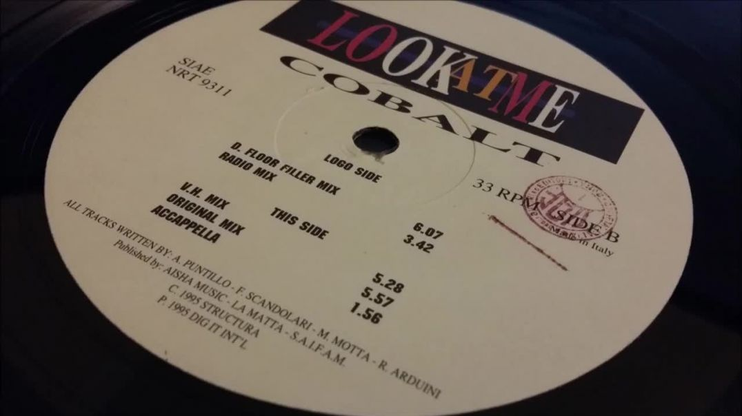 Cobalt - Look At Me (D. Floor Filler Mix)