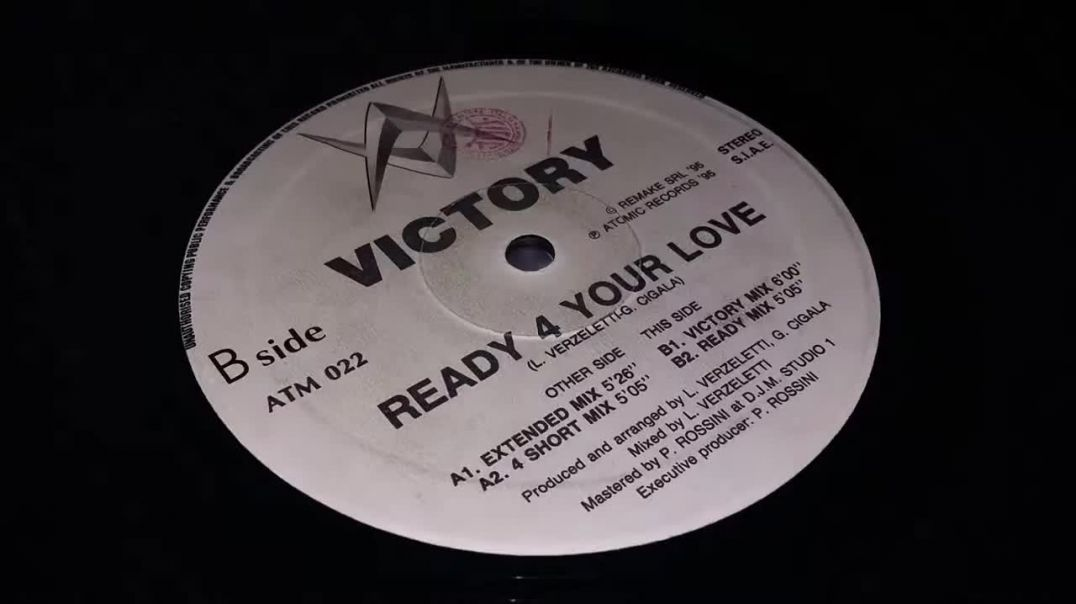 Victory ‎- Ready 4 Your Love (4 Short Mix)