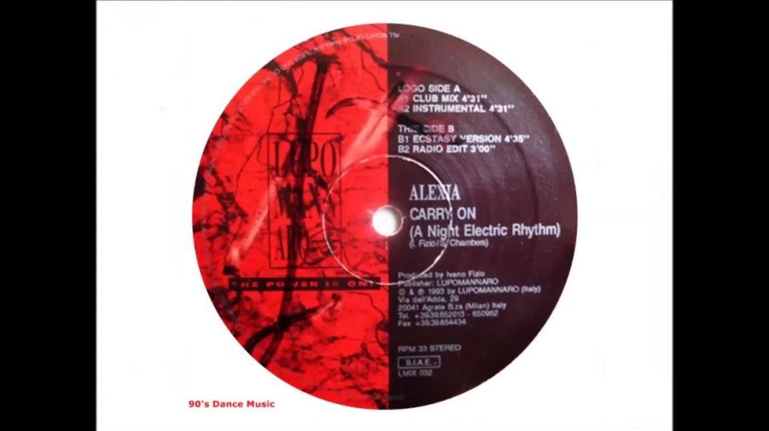Alexia - Carry On (A Night Electric Rhythm) (Club Mix)