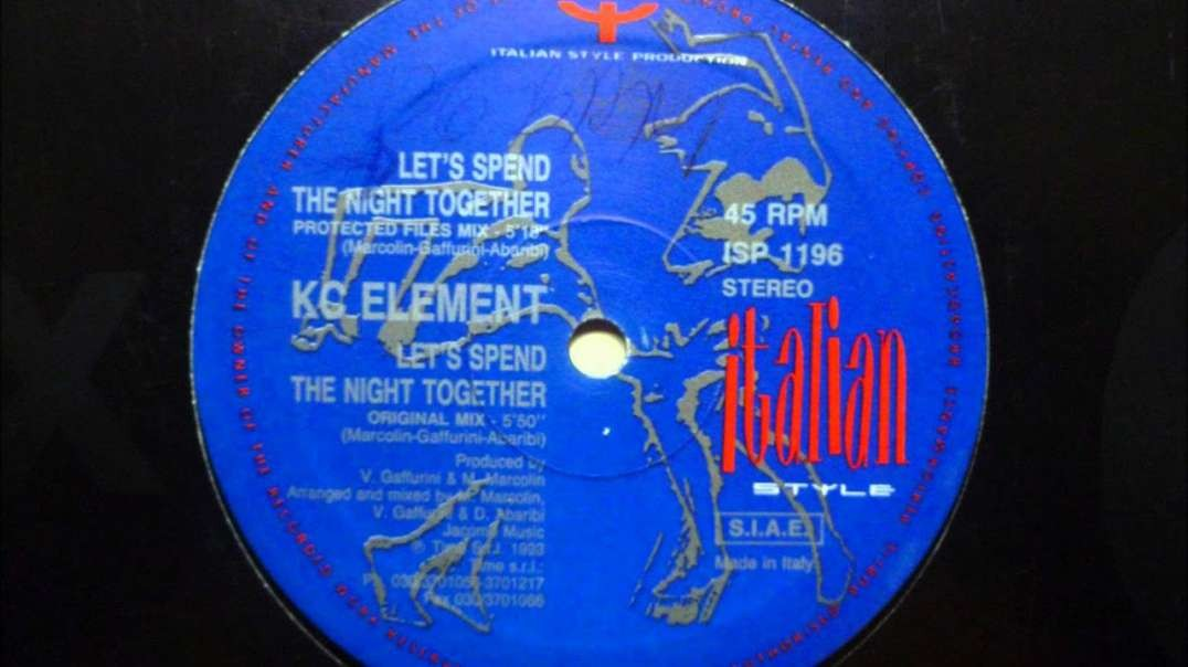 KC Element - Let's Spend the Night Together (Protected Files Mix)