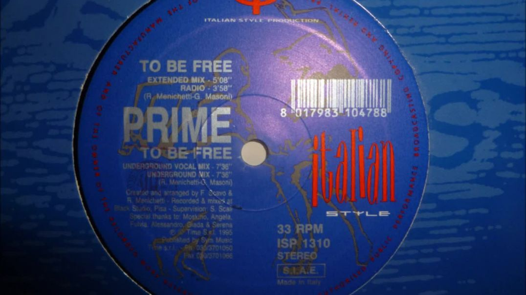 Prime - To Be Free