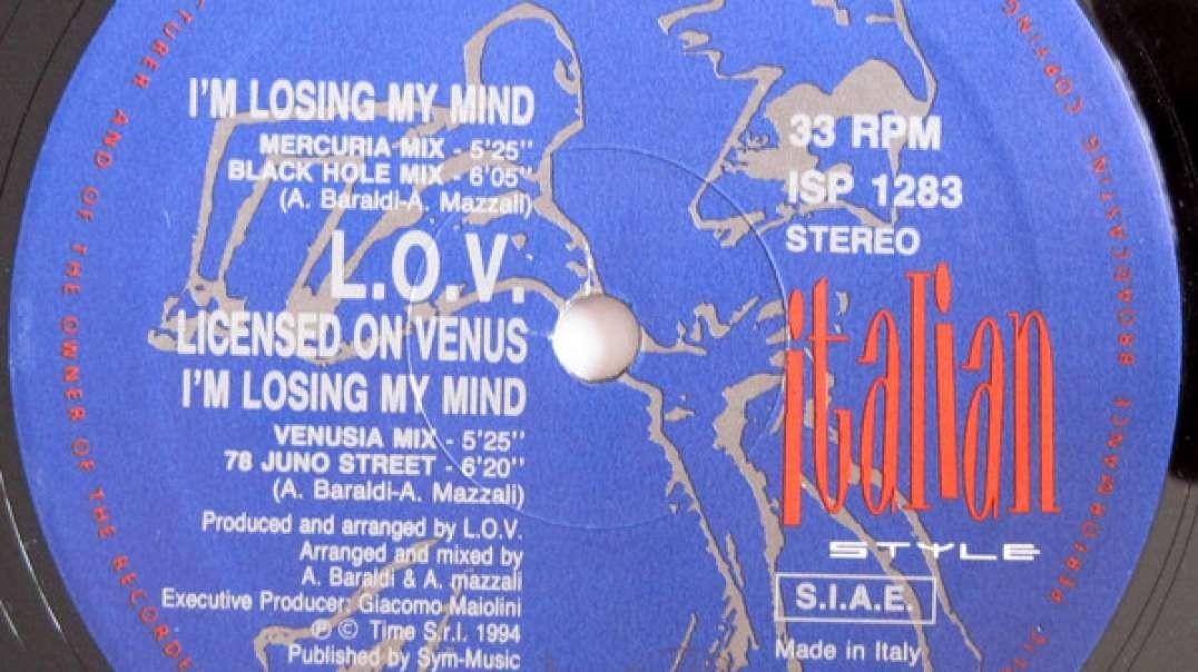 L.O.V. - I'm Losing My Mind (Venusia Mix)