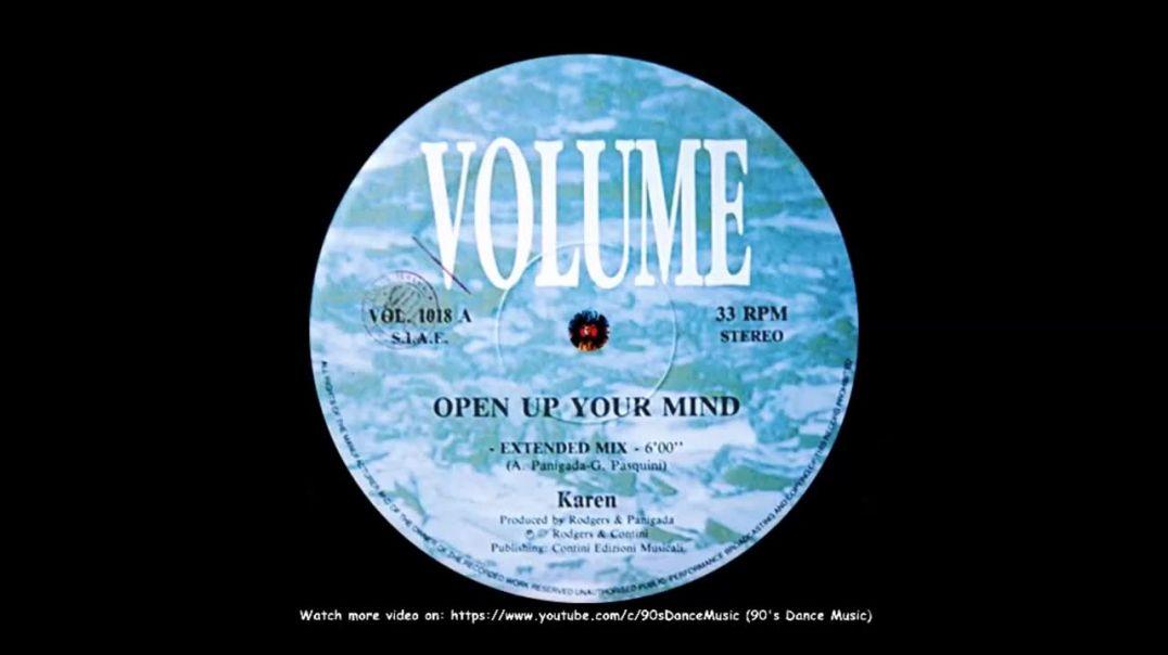Karen - Open Up Your Mind (Extended)