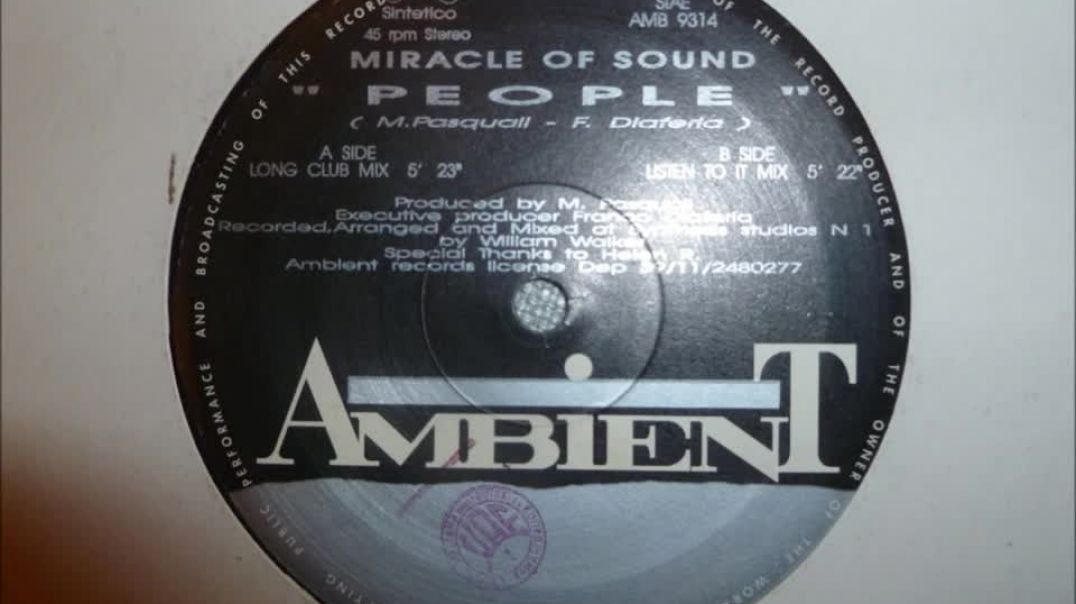 Miracle Of Sound - People