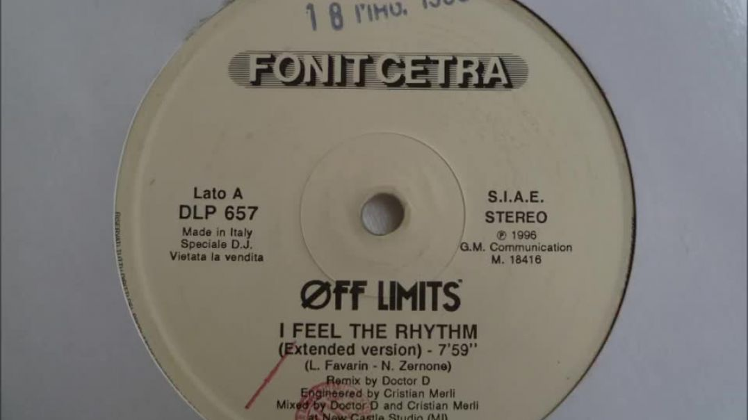 Off Limits - I Feel The Rhythm