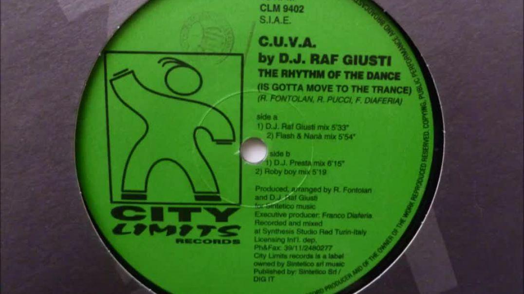 C.U.V.A. by Raf Giusti - The Rhythm Of The Dance