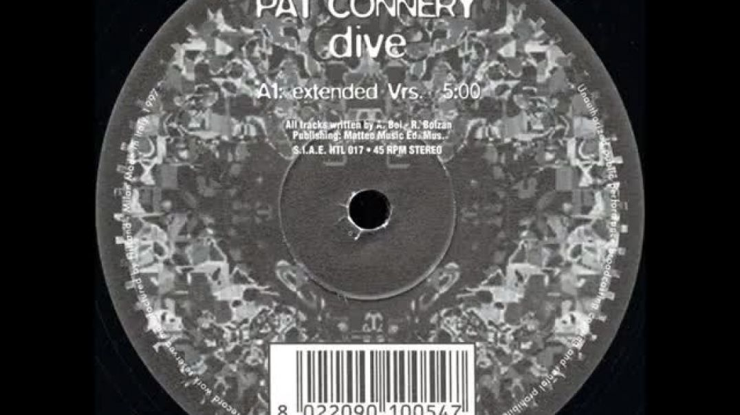 Pat Connery ‎- Dive (Extended Vrs.)