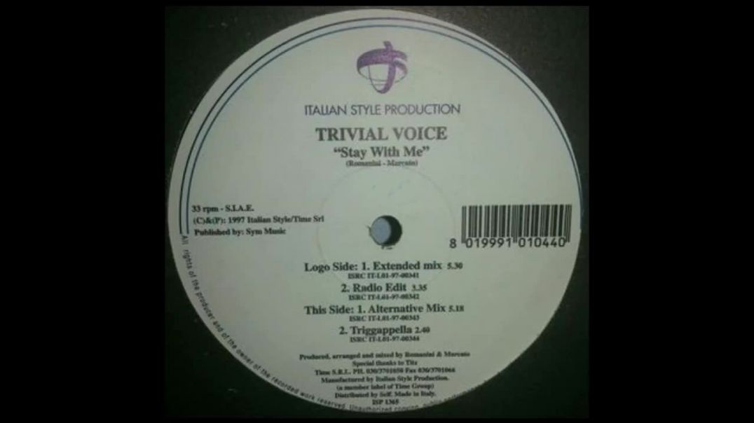 Trivial Voice - Stay With Me