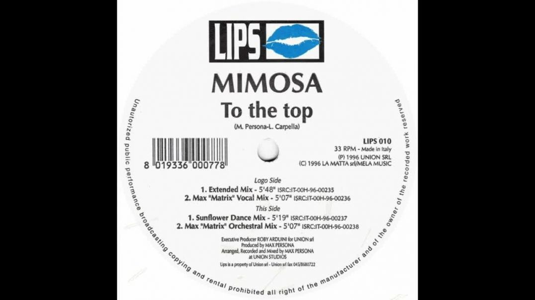 Mimosa - To The Top (Extended)