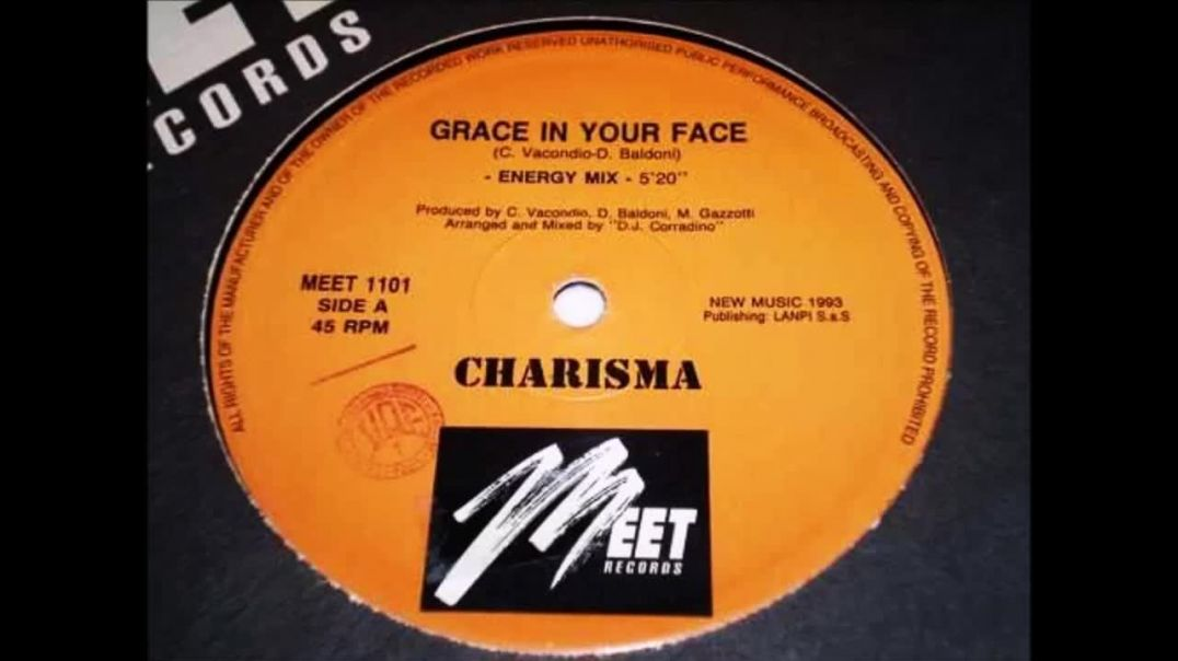 Charisma - Grace In Your Face (Energy Mix)
