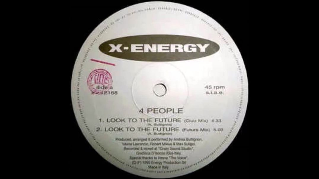 4 People - Look To The Future (Club Mix)