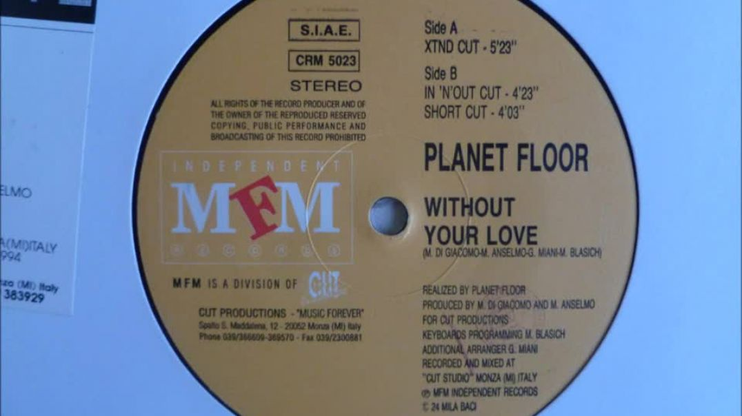 Planet Floor - Without Your Love