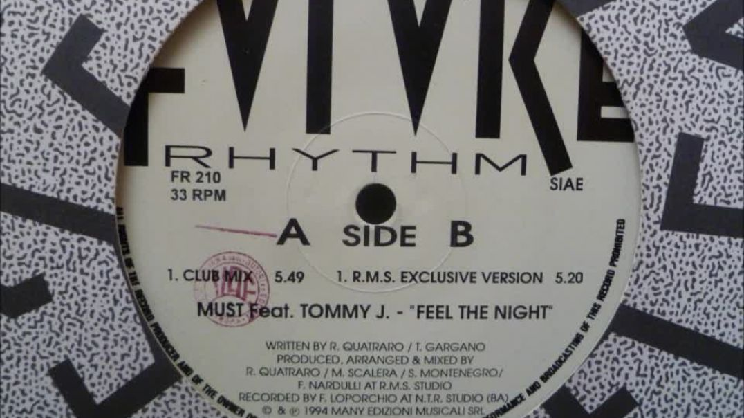 Must ft Tommy J. - Feel The Night